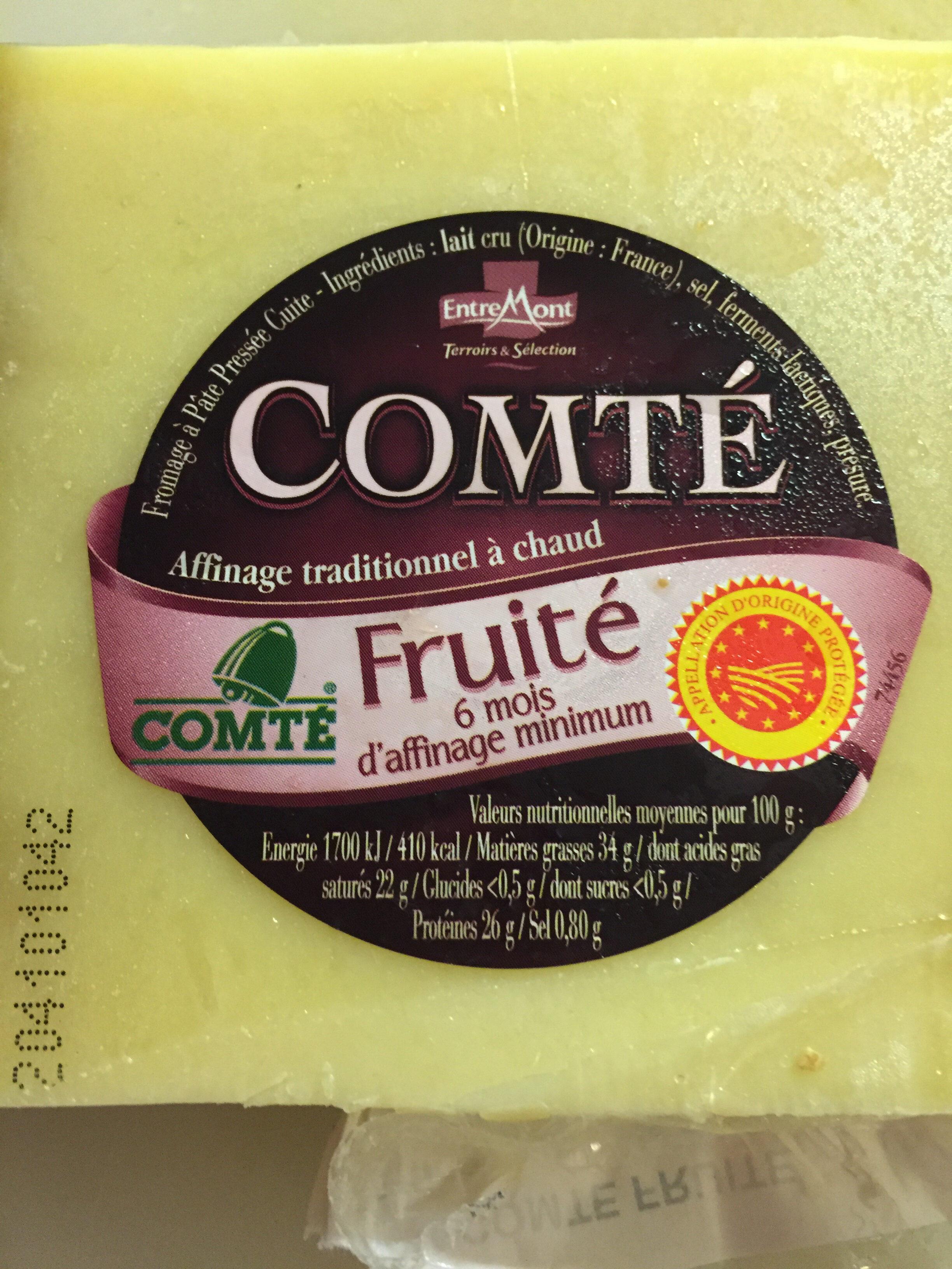 Comté Fruité 6 mois EntreMont - Product