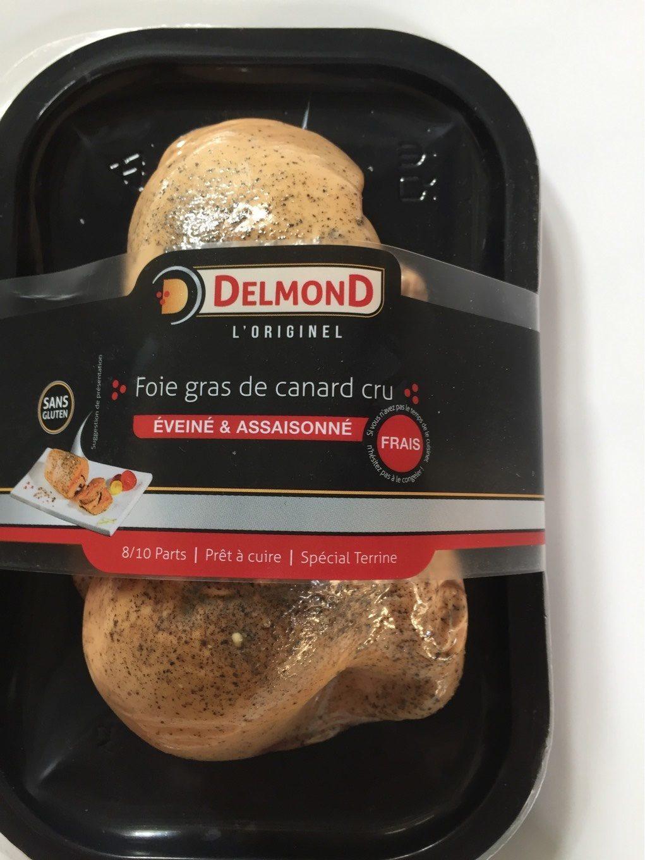 Foie Gras de Canard Cru, Éveiné & Assaisonné - Product - fr