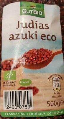 Judías azuki eco - Produit - es