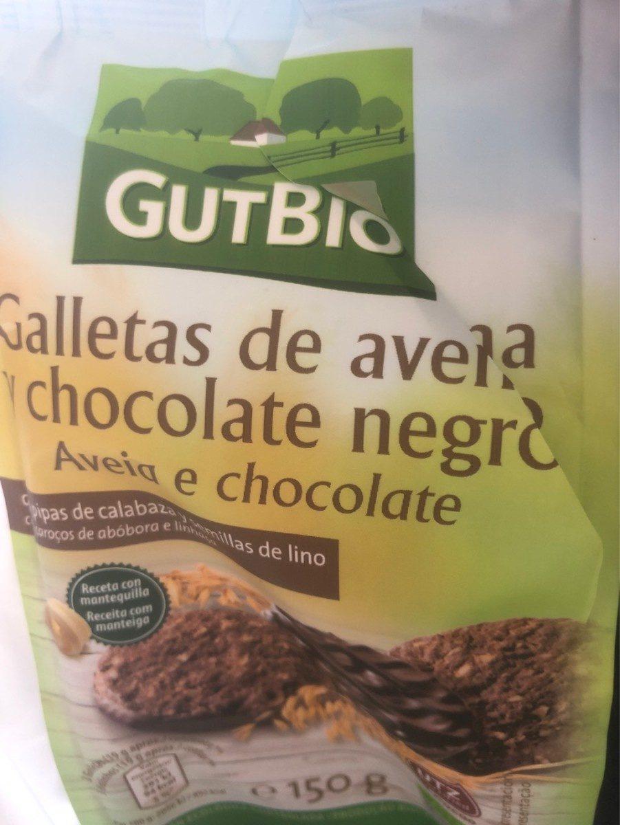 Galleta de avena y chocolate negro - Produit - fr