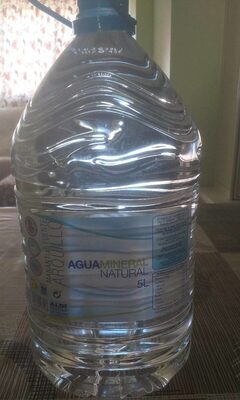 Agua mineral natural manantial fuentelajara - Producto - es