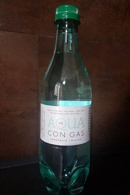 Agua con gas - Producto