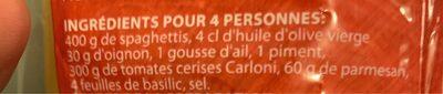 Pudin de cabracho - Ingredientes - fr