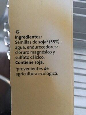 Tofu Ahumado - Ingredienti - es