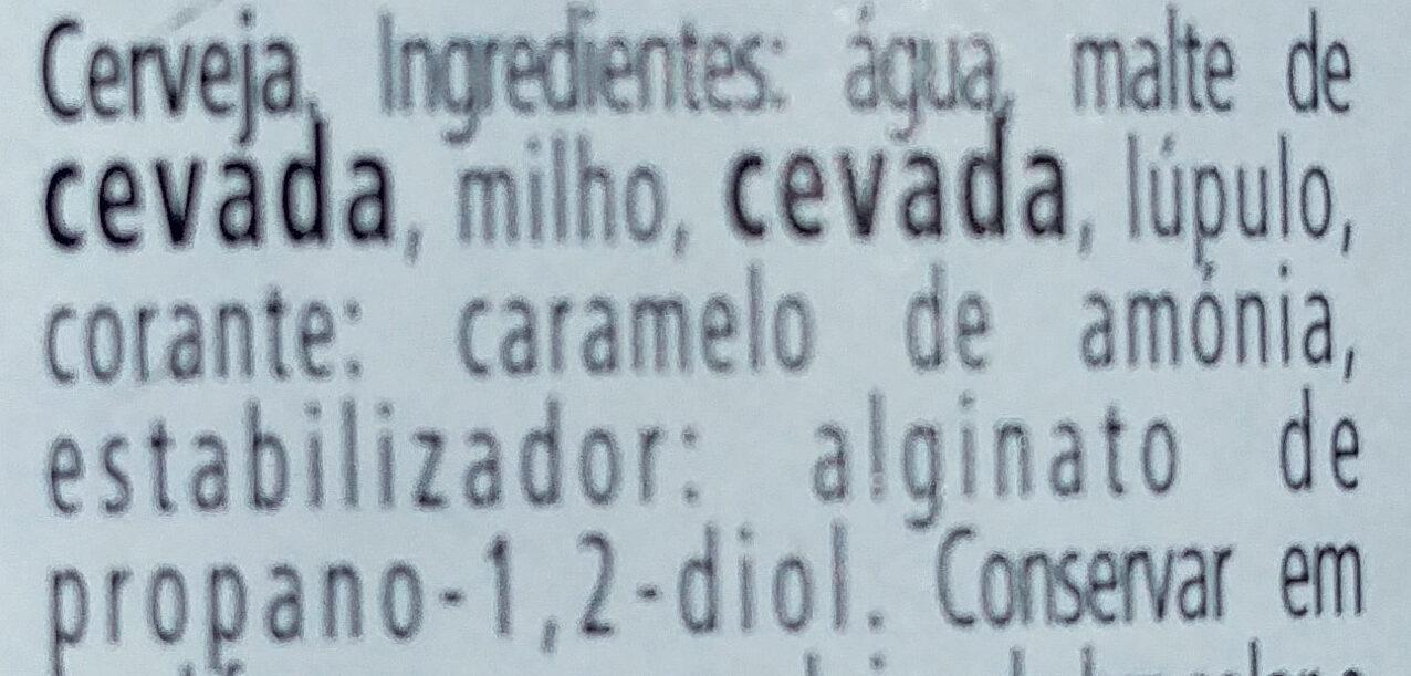 Cerveza karlsquell blond - Ingredients - pt