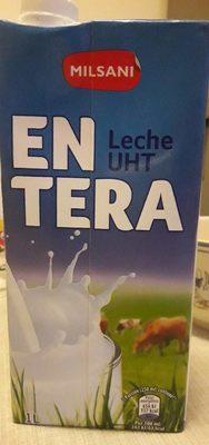 Leche entera - Producto
