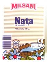 Nata liquida UHT - Producte