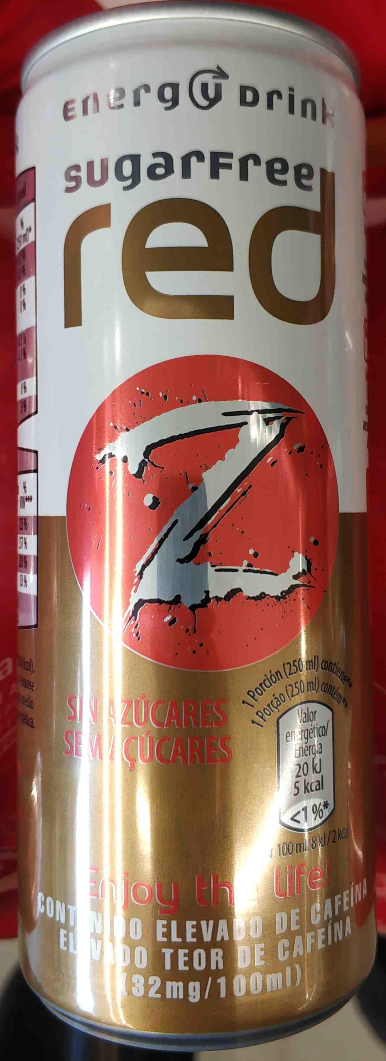 Red sugarfree - Producto