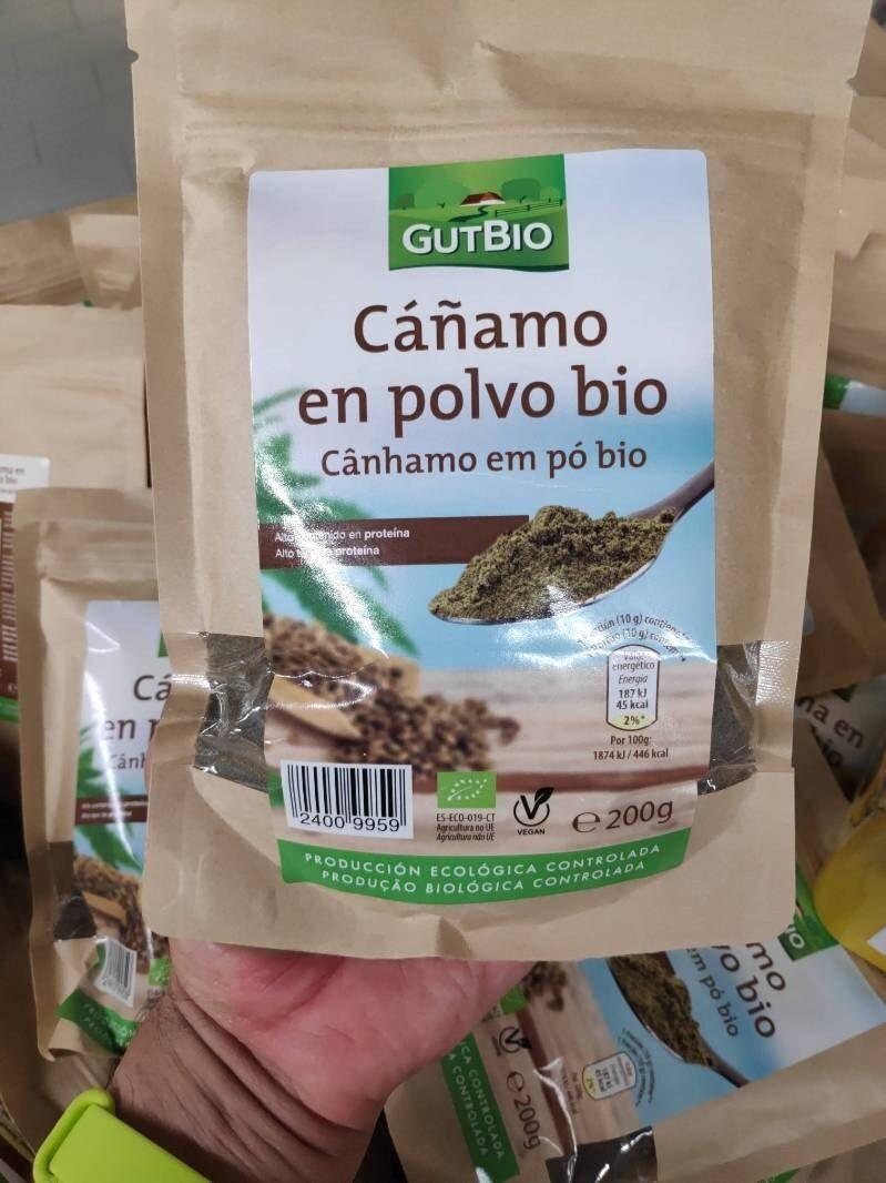Cáñamo en polvo bio - Produit