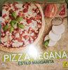 Pizza vegana estilo margarita - Product