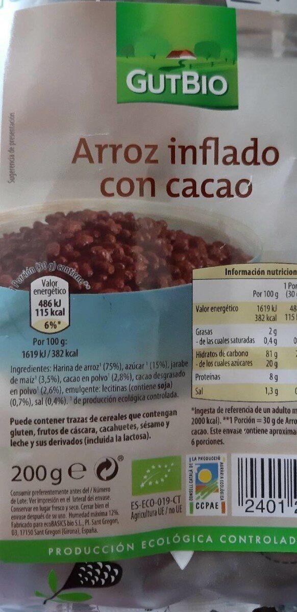 Arroz inflado con miel - Producte - es
