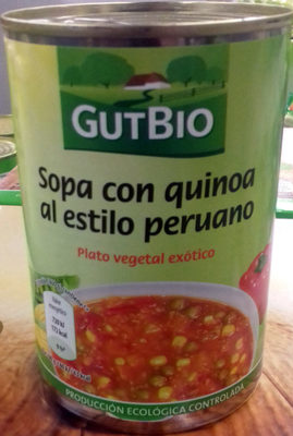Sopa con quinoa al estilo peruano - Product