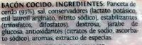 Taco de bacon Delicalo - Ingredientes - es