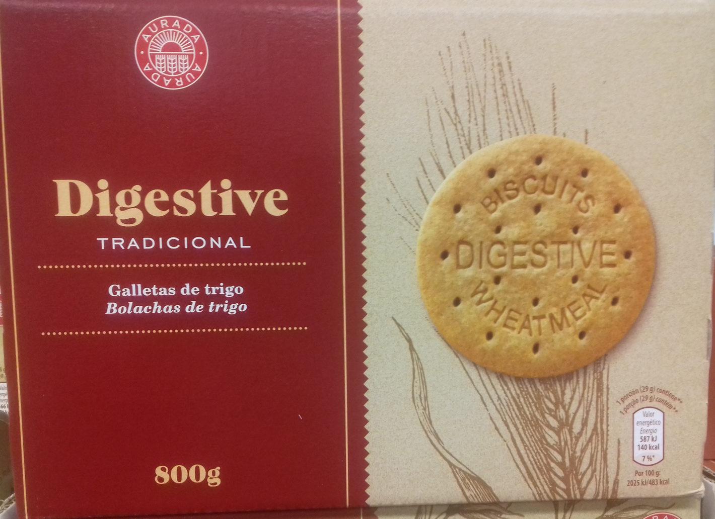 Galletas Digestive Tradicional - Producto - es