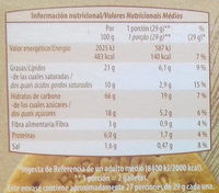 Galletas Digestive Tradicional - Información nutricional