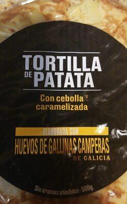 Tortilla de patatas con cebolla caramelizada - Product - en