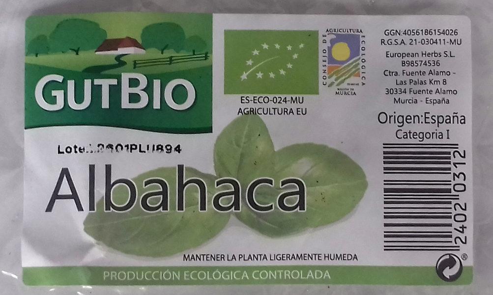 Albahaca - Ingredientes - es
