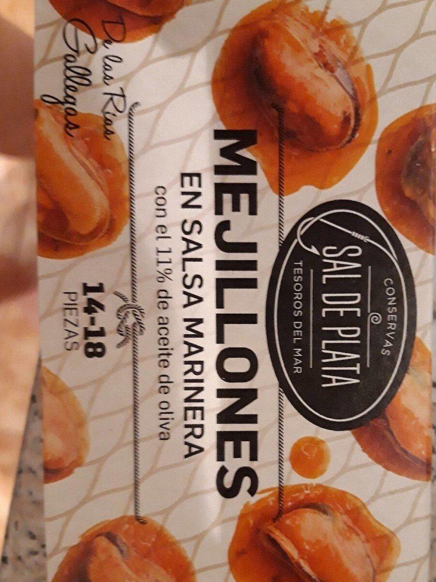 Mejillones en salsa marinera - Produit