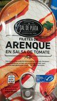Filetes de arenque en salsa de tomate - Producto - es
