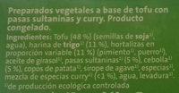 Veggieburger Verdura - Ingrédients - es