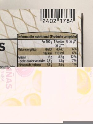 Zamburiñas en salsa marinera - Product