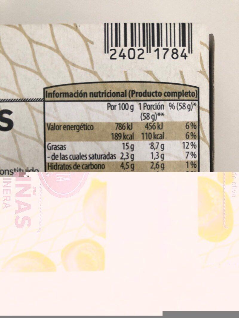 Zamburiñas en salsa marinera - Nutrition facts