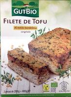 Filete de tofu al estilo bordelesa - Producto