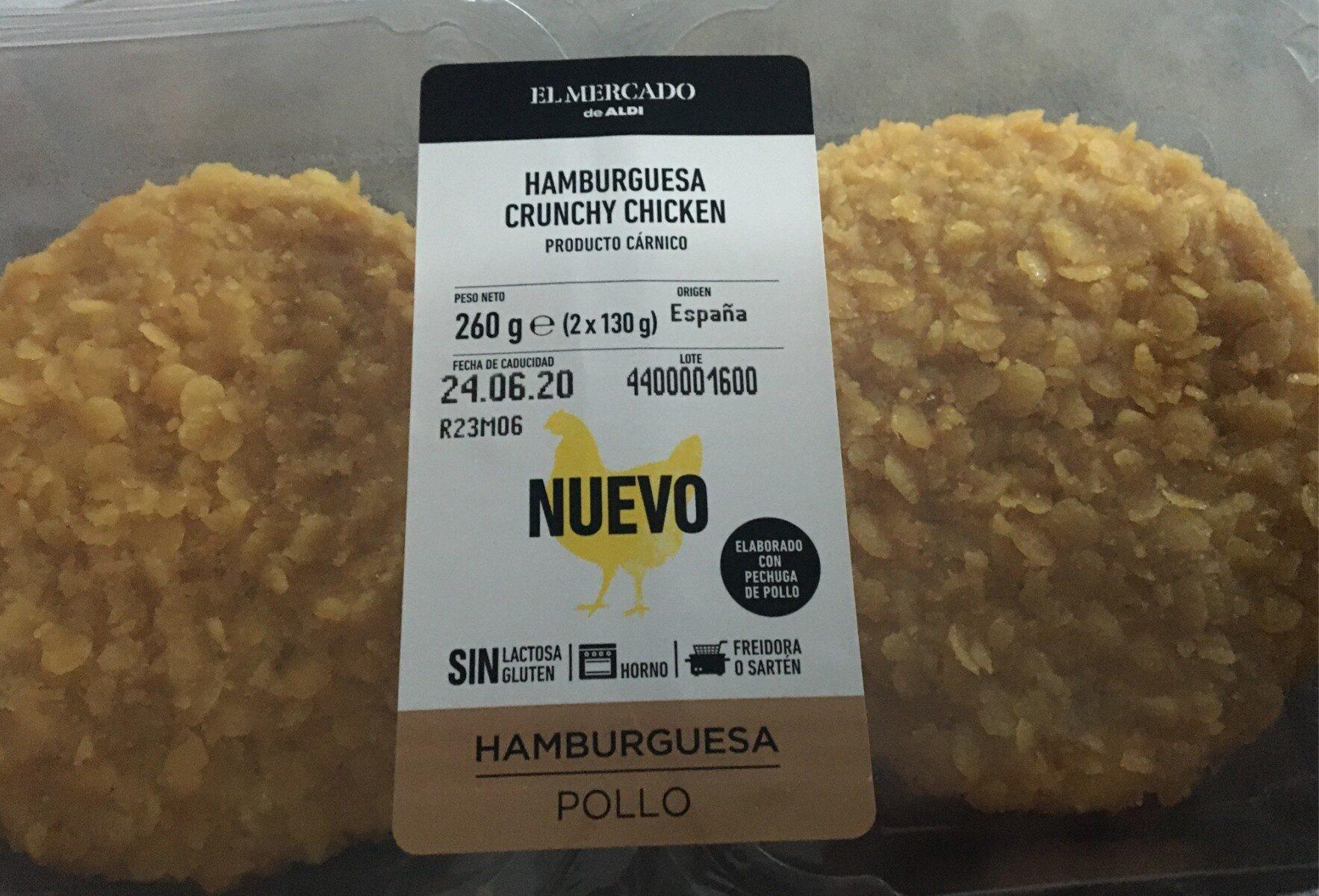 Hamburguesa Crunchy chicken - Producto - es