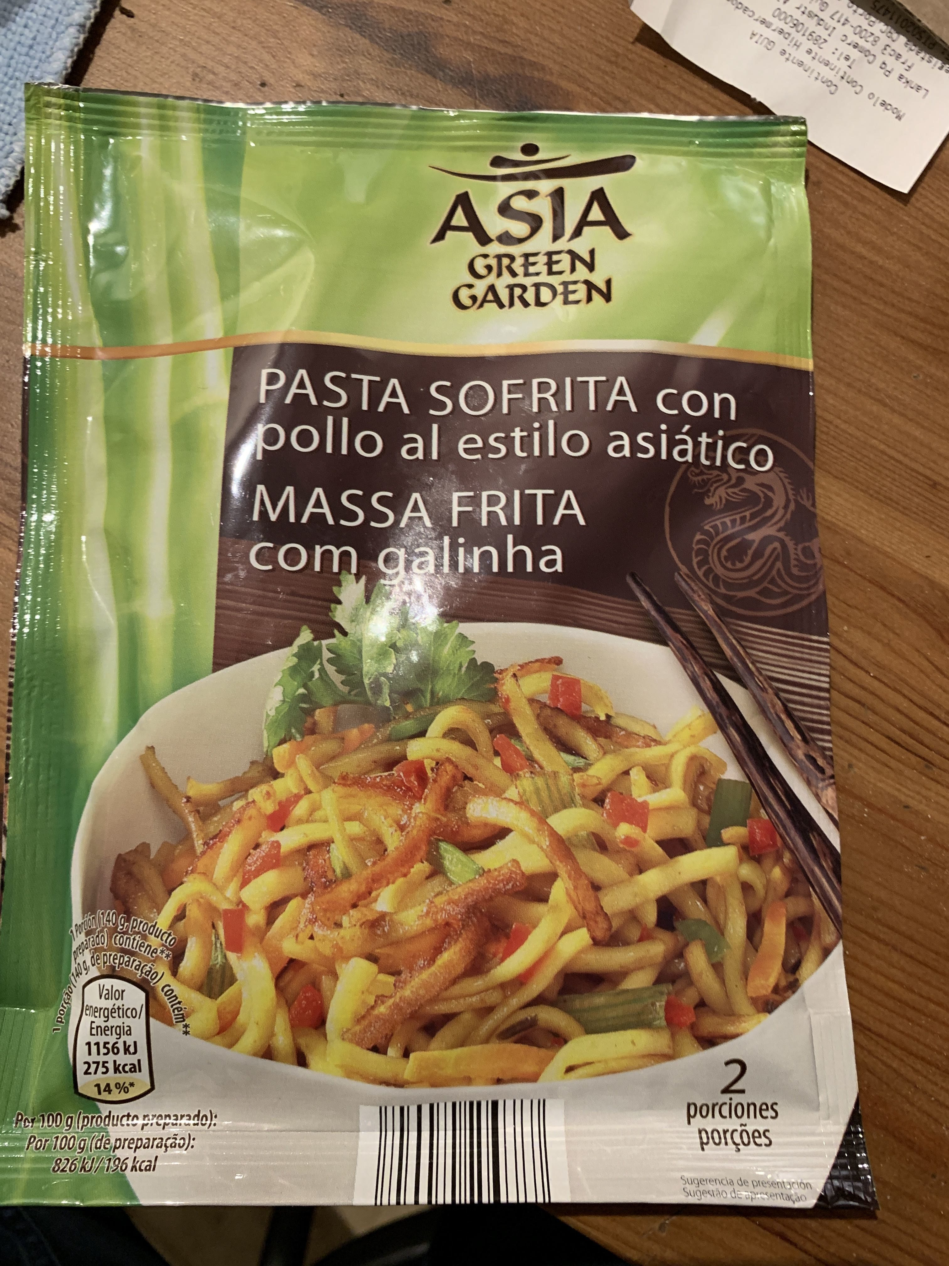 Pasta so frita estilo asiático - Product - fr