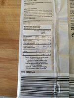 Mini crackers salvado trigo - Voedingswaarden - en