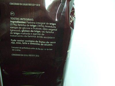 Tostadas Integrales - 3