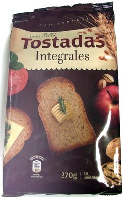 Tostadas Integrales - Produit