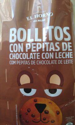 Bollitos pepitas de chocolate con leche - Produit