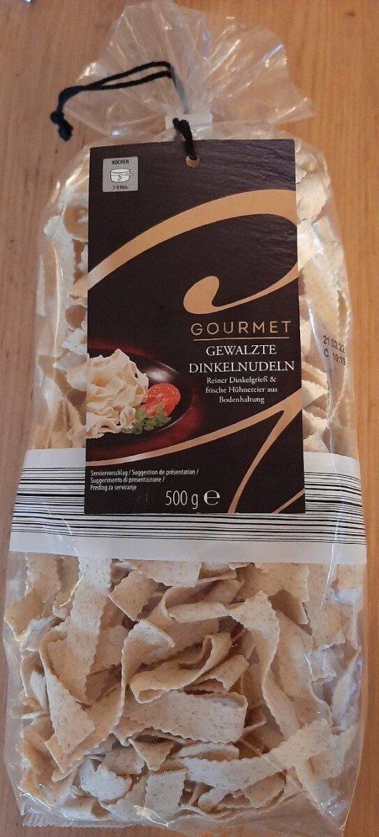 Gourmet Gewalzte Dinkelnudeln - Producto - es