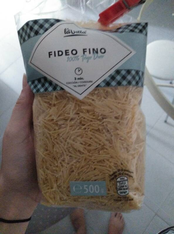 Fideo fino - Product