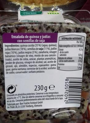 Ensalada de quinoa al curry - 1