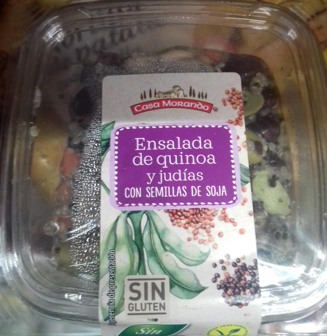 Ensalada de quinoa al curry - Product - es