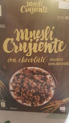 Muesli Crujiente con chocolate