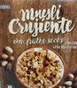 Muesli crujiente con frutos secos - Producto