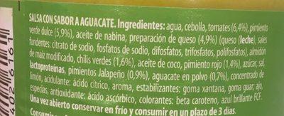 Salsa de tomate y pimiento - Ingrediënten