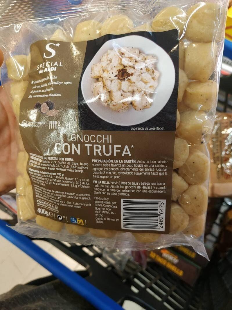 Gnocchi con trufa - Product