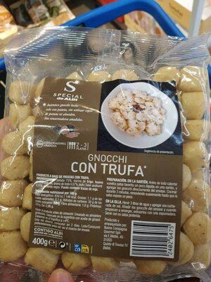 Gnocchi con trufa - Nutrition facts