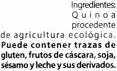 Quinoa - Ingredients