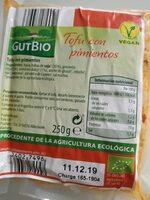 Tofu con almendras y avellanas - Prodotto - es