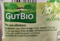 Tofu con almendras y avellanas - Ingredienti - es