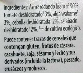 Preparado para tabulé de quinoa - Ingredientes