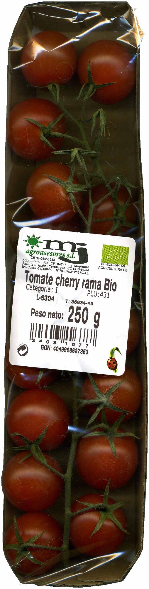 Tomate Cherry Rama Ecológico - Produkt - es