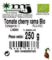 Tomates cherry en rama - Ingredientes