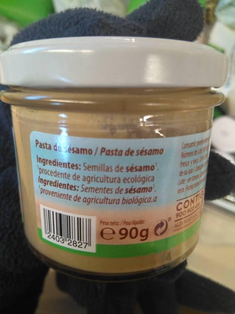 Tahin - Ingredientes