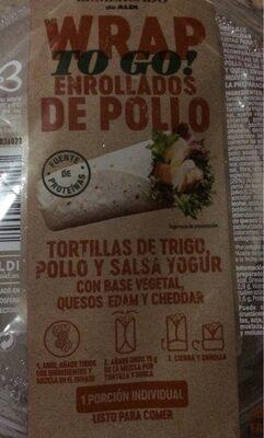 ERAP To Go enrollados de pollo - Producte
